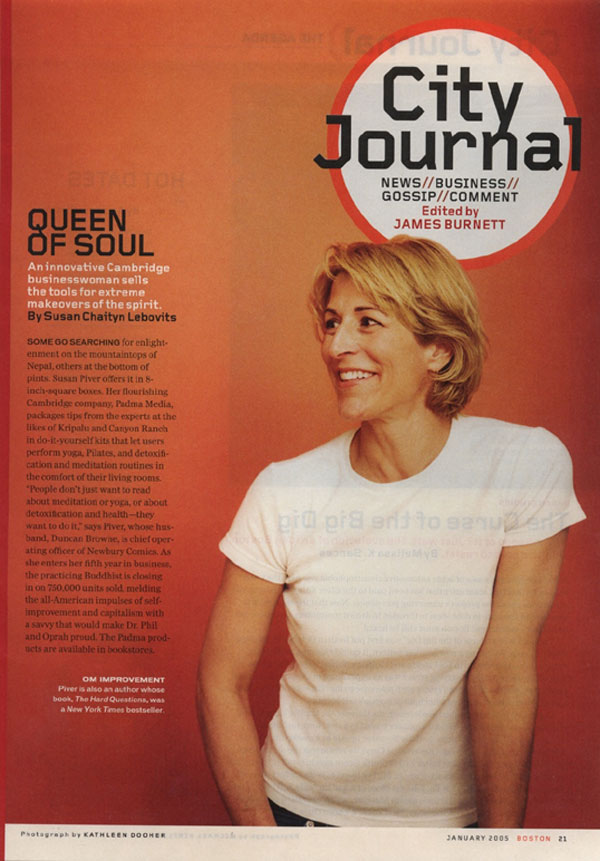 Queen of Soul, Boston Magazine, January 2005, Page 21