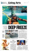 Thrill seekers find chills in ice diving