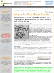 Where To Find Great Stories