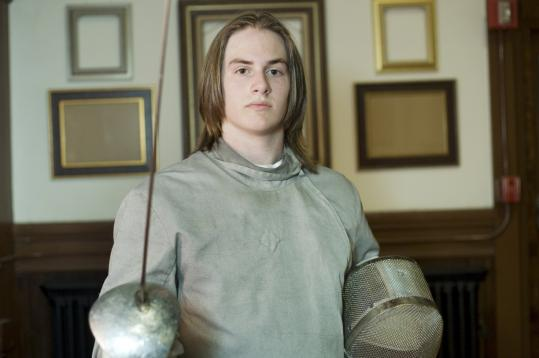 Philip Dershwitz, 15, utilized his problem-solving skills to score a US men's fencing title in the sabre.