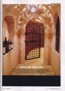 Stellar Cellars, Boston Magazine, Fall 2007, Page 51