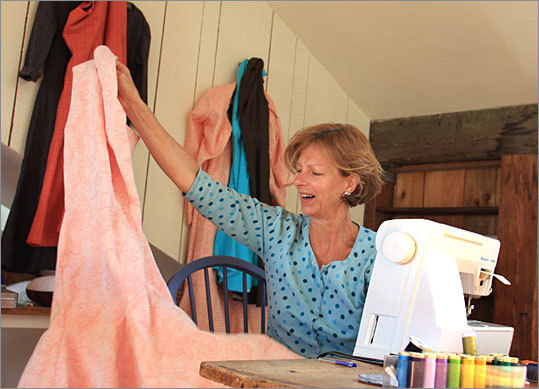 Elizabeth Nill of Barnstable wanted to indulge her creative side. She's now a fashion designer.