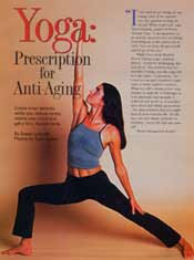 Yoga: Prescription for Anti-Aging